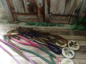 Текстильные украшения. Ярмарка Мастеров - ручная работа, handmade.