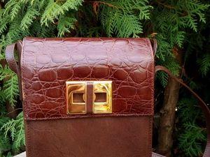 Акция: Винтажные сумки -предложи свою цену!. Ярмарка Мастеров - ручная работа, handmade.