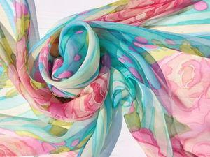 Новые шарфики в наличии!. Ярмарка Мастеров - ручная работа, handmade.