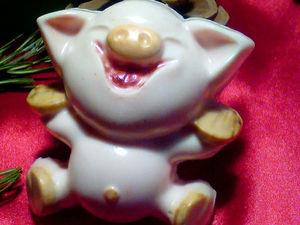 Миролюбивая Свинка Фани. Ярмарка Мастеров - ручная работа, handmade.