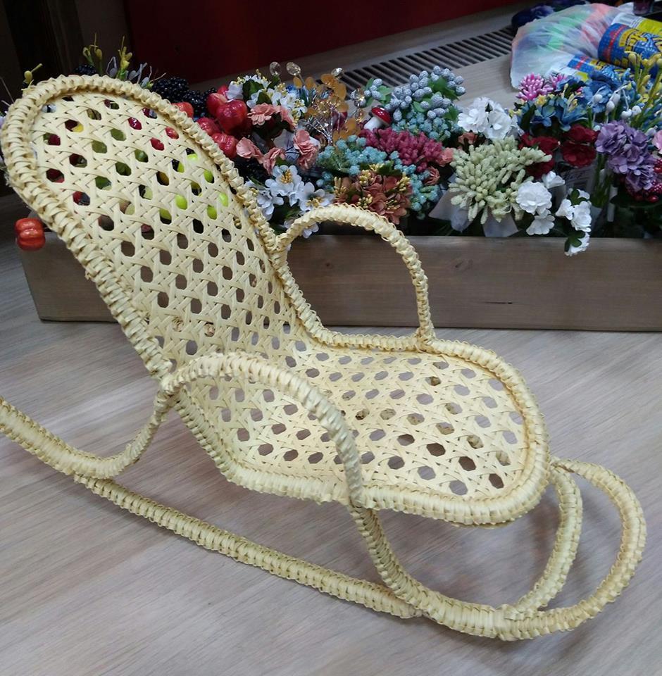 кресло-качалка, кресло для куклы, кресло для мишки, мастеркласс кресло, плетеное кресло