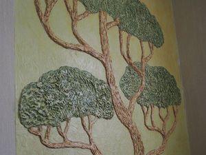 Как сделать барельеф «Дерево» на стене. Ярмарка Мастеров - ручная работа, handmade.