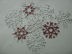 Новогодний фьюзинг: создаём снежинку из стекла. Ярмарка Мастеров - ручная работа, handmade.