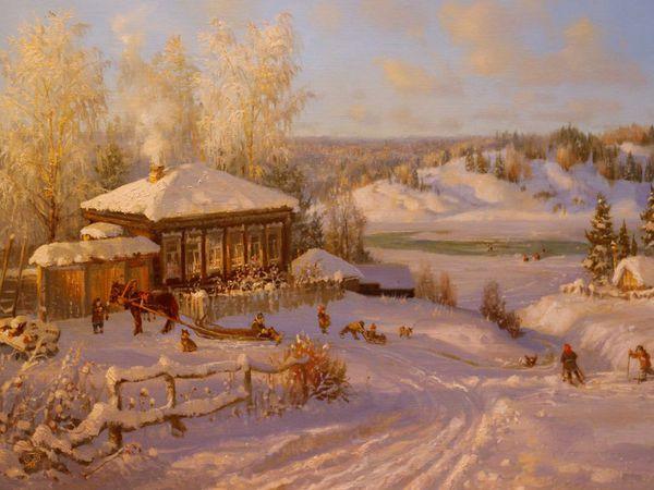 Выпал снег... | Ярмарка Мастеров - ручная работа, handmade