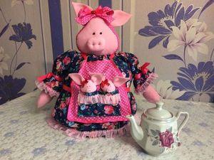 Грелка для чайника — и украшение и функциональность. Ярмарка Мастеров - ручная работа, handmade.