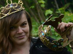 Корона своими руками для праздников и фотосессий. Ярмарка Мастеров - ручная работа, handmade.