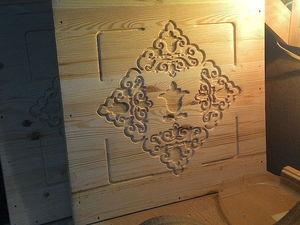 Сундук с национальным орнаментом. Часть 3 Начало работы с рельефами. Ярмарка Мастеров - ручная работа, handmade.