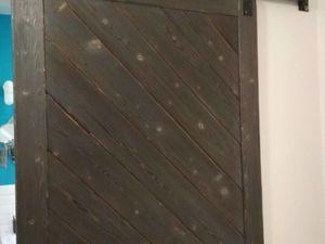 Дверь в стиле лофт.. Ярмарка Мастеров - ручная работа, handmade.