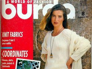 Парад моделей Burda Moden № 8/1993, Европейское издание. Ярмарка Мастеров - ручная работа, handmade.