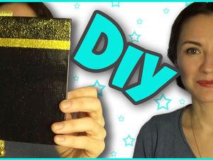 Видео мастер-класс: как украсить обложку блокнота своими руками. Ярмарка Мастеров - ручная работа, handmade.