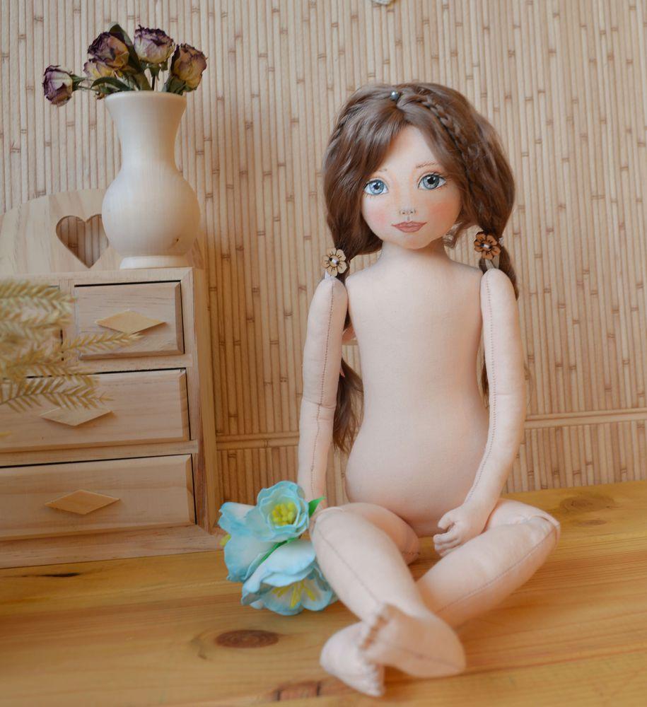мастер-класс, кукла своими руками, парик для куклы, поворачивающаяся голова