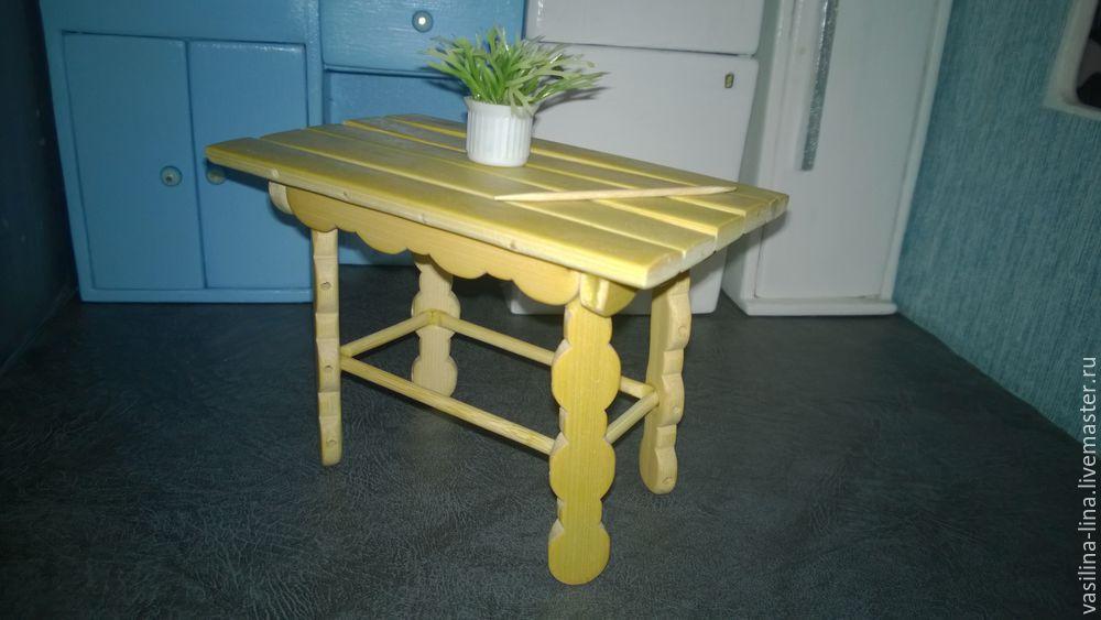стол из подручных