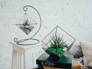 5 оригинальных способов использования флорариумов в интерьере. Ярмарка Мастеров - ручная работа, handmade.