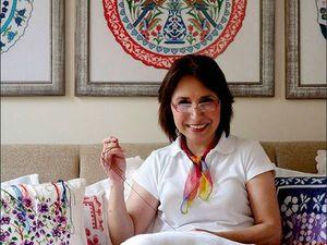 Вдохновляющая вышивка с турецкими мотивами от Filiz Turkocagi | Ярмарка Мастеров - ручная работа, handmade