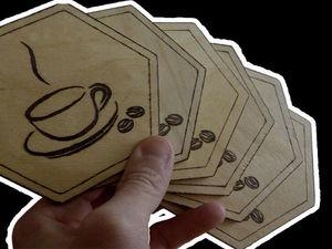 Мастерим подставки для чашек своими руками. Ярмарка Мастеров - ручная работа, handmade.