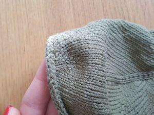 Обработка закрытого края с помощью полого шнура i-cord. Ярмарка Мастеров - ручная работа, handmade.