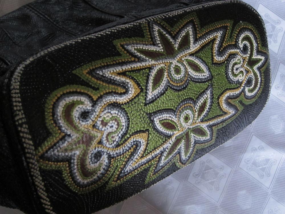 черная сумка, сумка из кожи, реставрировать сумку
