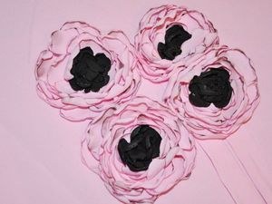 Цветы из ткани своими руками легко и просто. Ярмарка Мастеров - ручная работа, handmade.