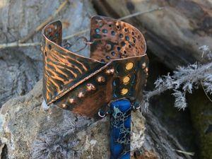"""""""Into the wild"""", или дичайший медный браслет. Ярмарка Мастеров - ручная работа, handmade."""