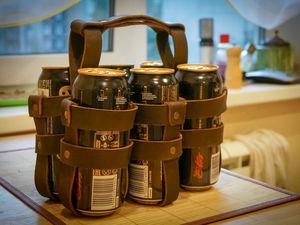 Переноска для пива. Ярмарка Мастеров - ручная работа, handmade.