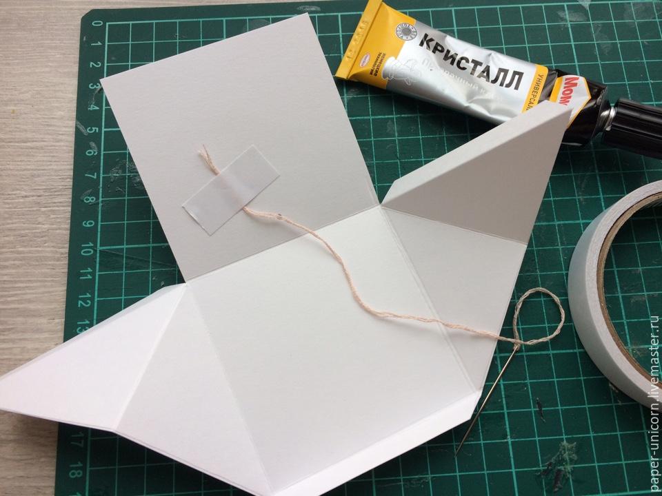 Выпрыгивающий кубик открытка, днем рождения ребенку