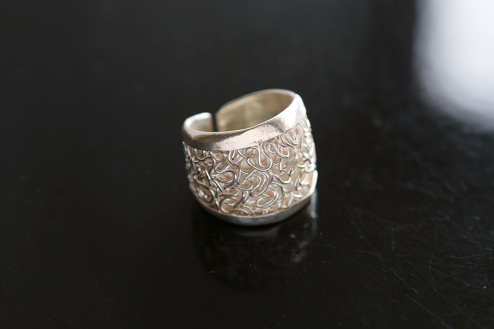 серебряный замочек