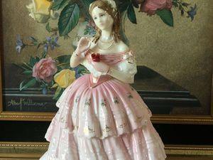 Очень редкая статуэтка. Красная роза. Лим. серия Royal Doulton | Ярмарка Мастеров - ручная работа, handmade