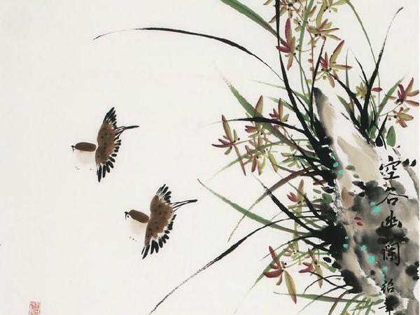 занятие на тему Орхидея. Листья. | Ярмарка Мастеров - ручная работа, handmade