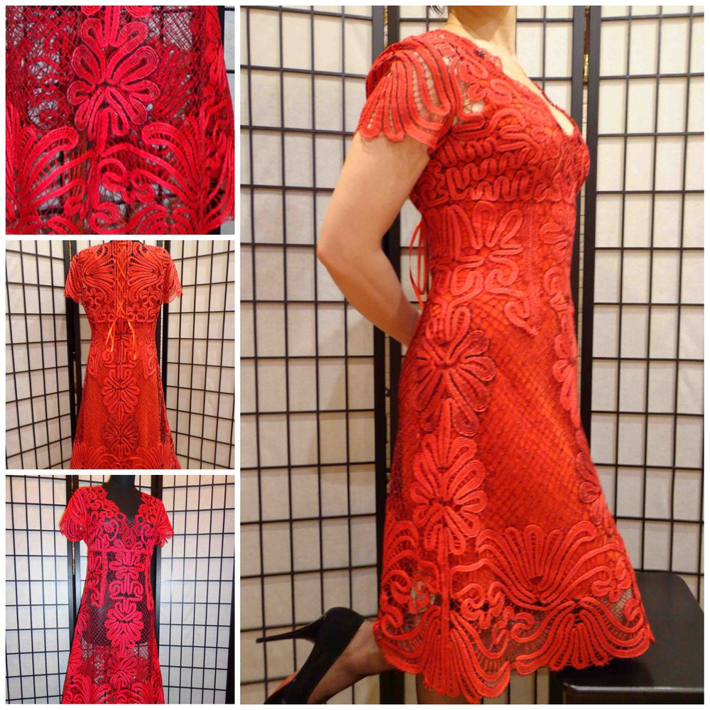 сарафан, кружево, платье вязаное