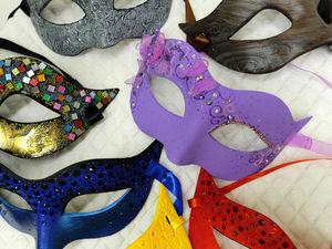 ВИДЕО карнавальных масок. Ярмарка Мастеров - ручная работа, handmade.