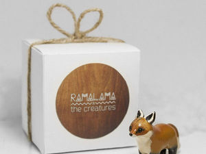 Прелестные миниатюрные зверушки Ramalama Creatures. Ярмарка Мастеров - ручная работа, handmade.