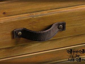 Изготавливаем своими руками стильные кожаные ручки для мебели. Ярмарка Мастеров - ручная работа, handmade.