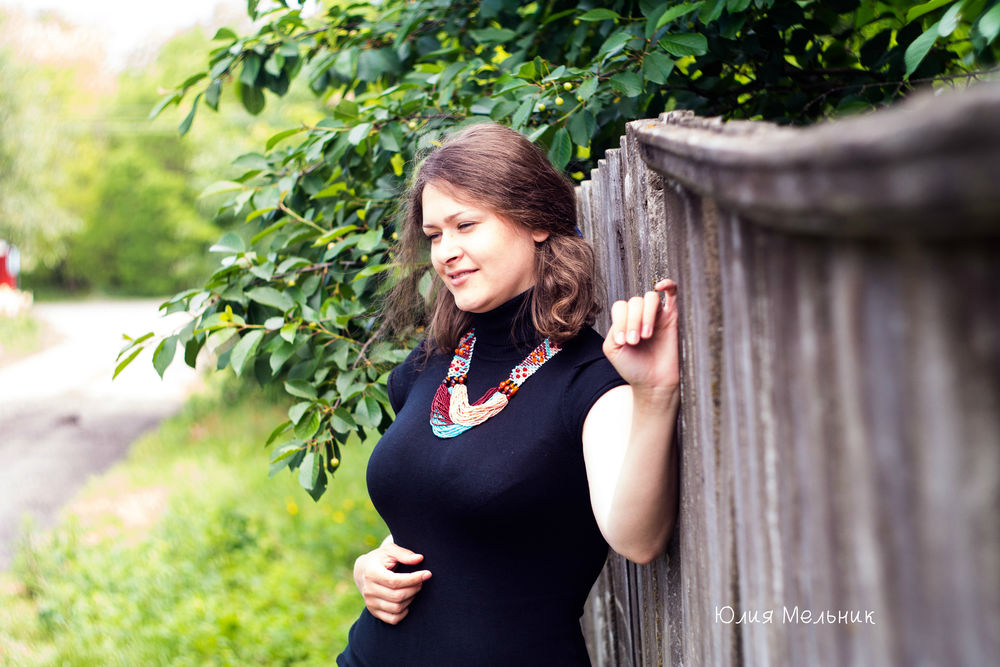 украшение на шею, деревянные бусины, подарок женщине