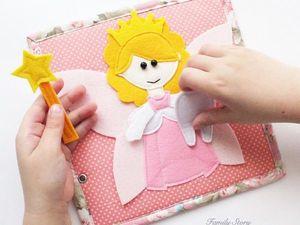 Развивающая книга для детей.. Ярмарка Мастеров - ручная работа, handmade.