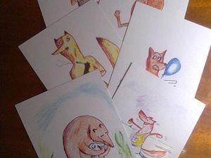 Еще открытки. Ярмарка Мастеров - ручная работа, handmade.