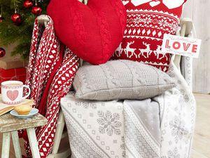 Декоративные новогодние подушечки: 26 праздничных вариантов. Ярмарка Мастеров - ручная работа, handmade.