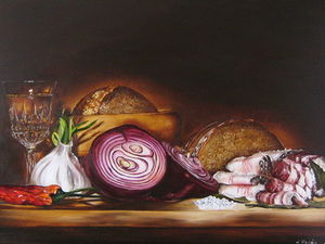 Сельский ужин. Ярмарка Мастеров - ручная работа, handmade.