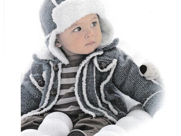 Утепляем малышей красиво. Часть 2: вязаные пальто для детей   Ярмарка Мастеров - ручная работа, handmade