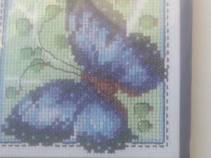 Новые процессы 2. Бабочка синяя(появилась в наличии у мастера). Ярмарка Мастеров - ручная работа, handmade.