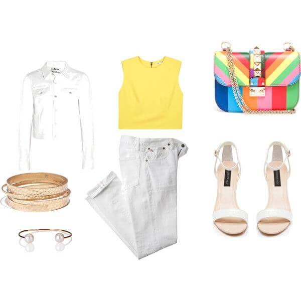 летний лукбук, роспись сумок, сочетание цветов
