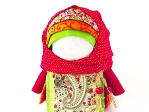 Создаем народную куклу-оберег «Крупеничка» | Ярмарка Мастеров - ручная работа, handmade