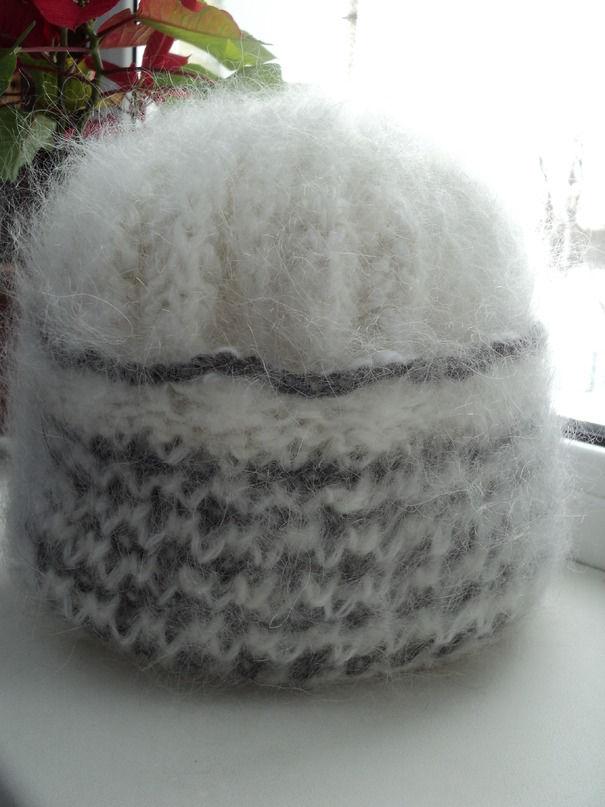 пуховая шапочка