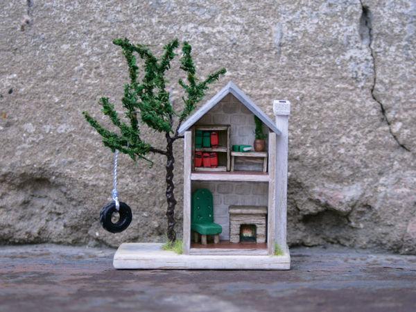 Делаем мебель для микро-домика | Ярмарка Мастеров - ручная работа, handmade