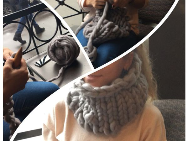 Мастер-класс Вязание шапки, снуда, шарфа | Ярмарка Мастеров - ручная работа, handmade