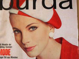 Burda — спец. выпуск — Весна — Лето 1966. Ярмарка Мастеров - ручная работа, handmade.