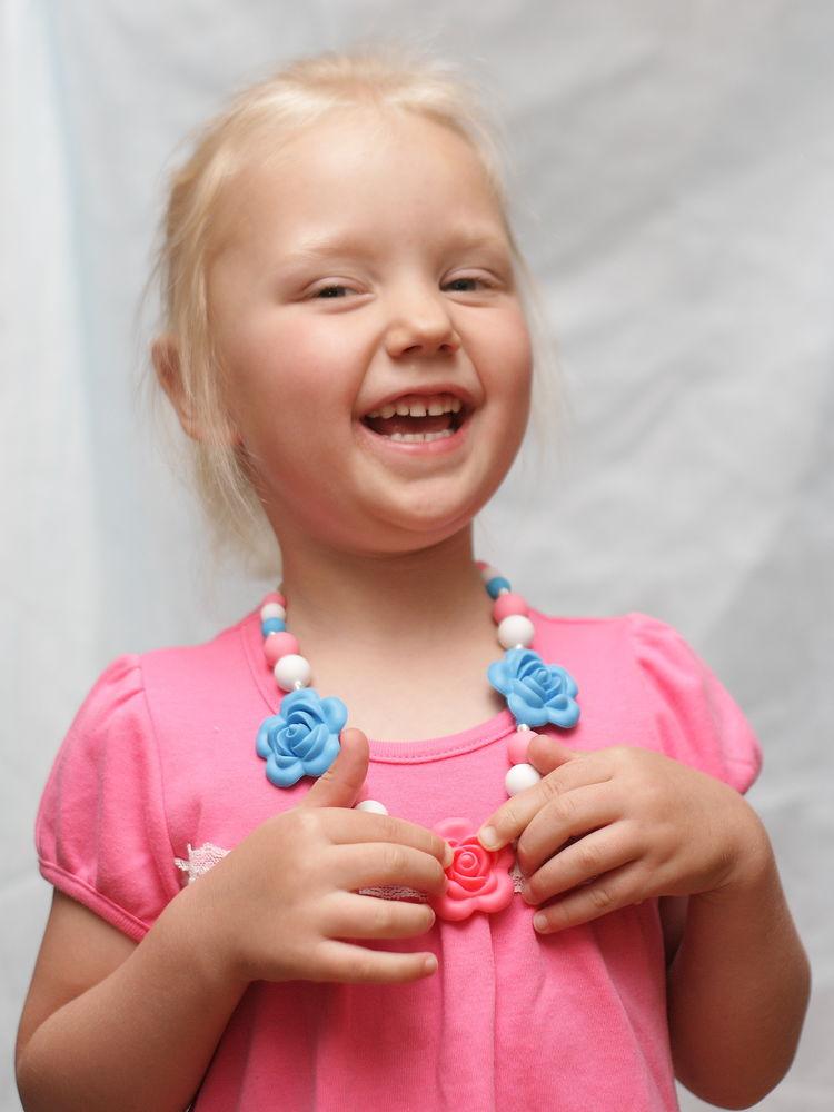 силиконовые бусы, украшения для девочек