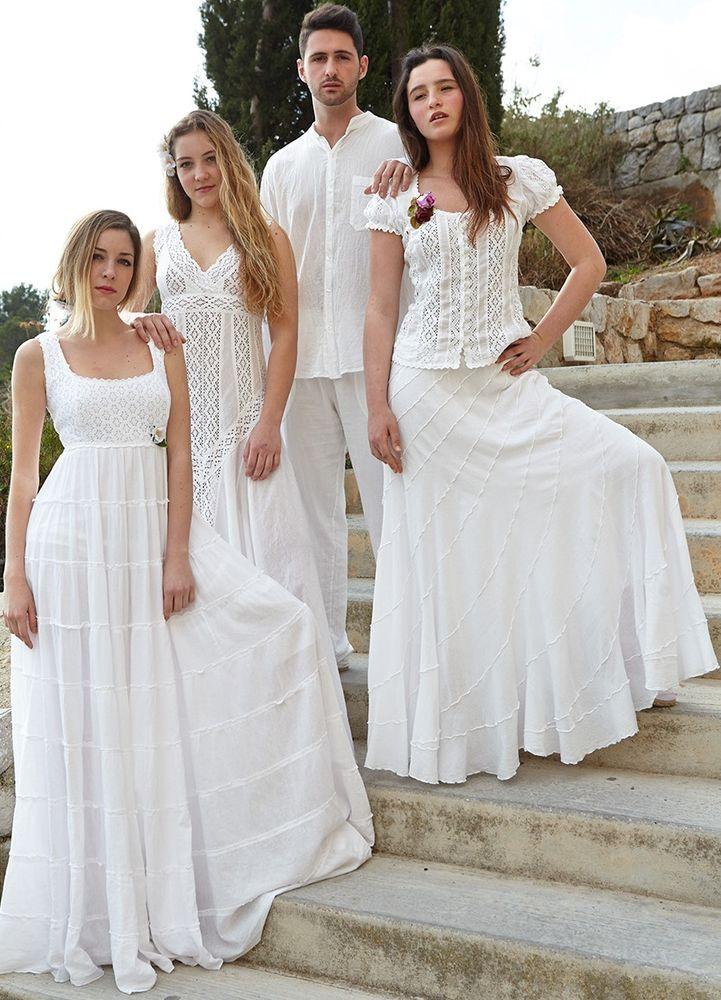 Белое бохо, или Шикарная одежда для королевы летнего пляжа, фото № 84