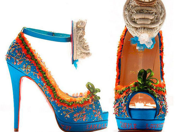 Коллекция туфель «Marie Antoinette» от дизайнера Christian Louboutin | Ярмарка Мастеров - ручная работа, handmade