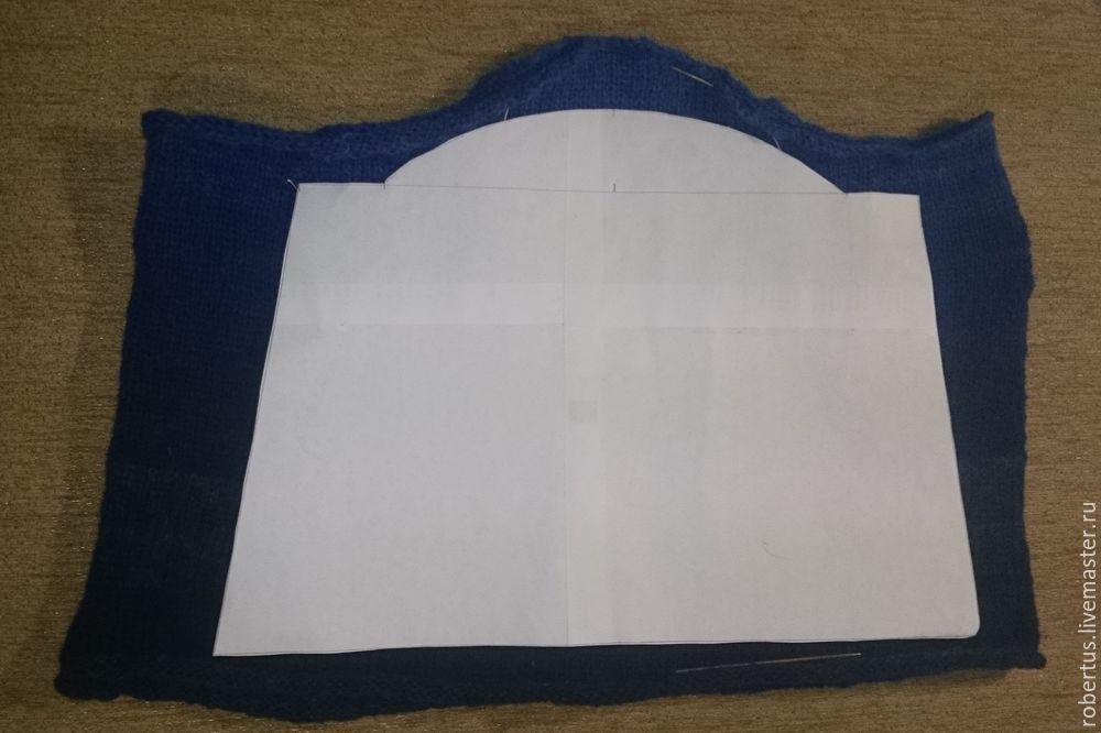Мастер-класс: как сделать сумку с двойным фермуаром, фото № 5