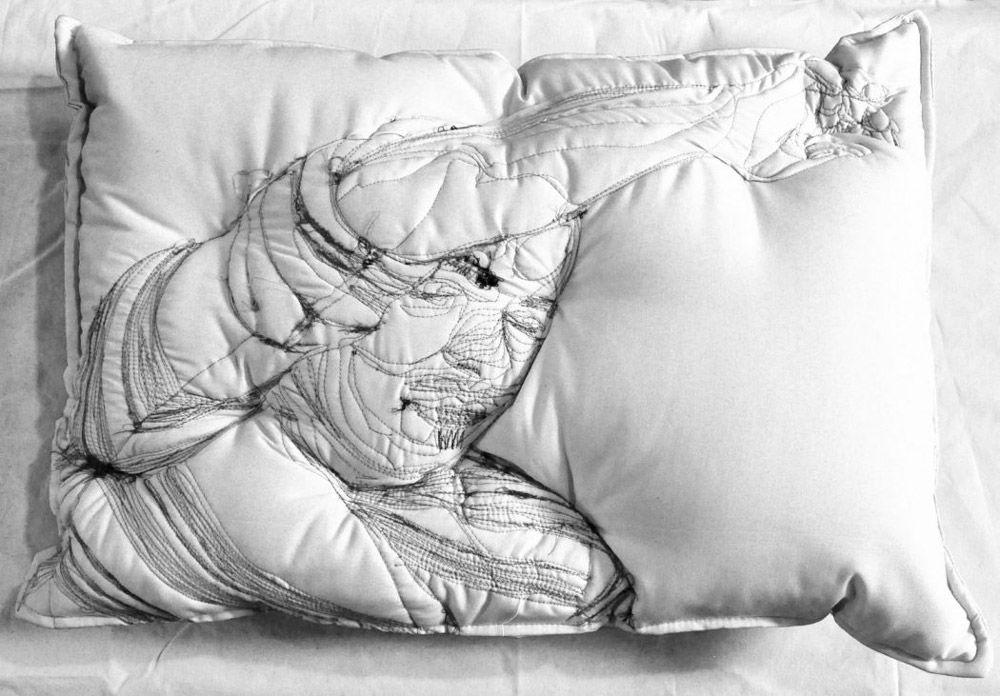 Погруженные в сон: вышивка на подушках Maryam Ashkanian, фото № 5